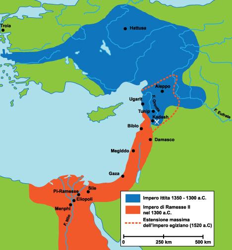 La battaglia di kadesh (1275 a.c.)