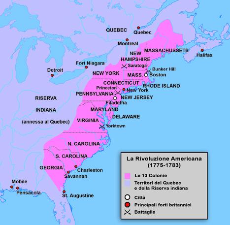 La guerra della rivoluzione americana for Prime case in nuova inghilterra